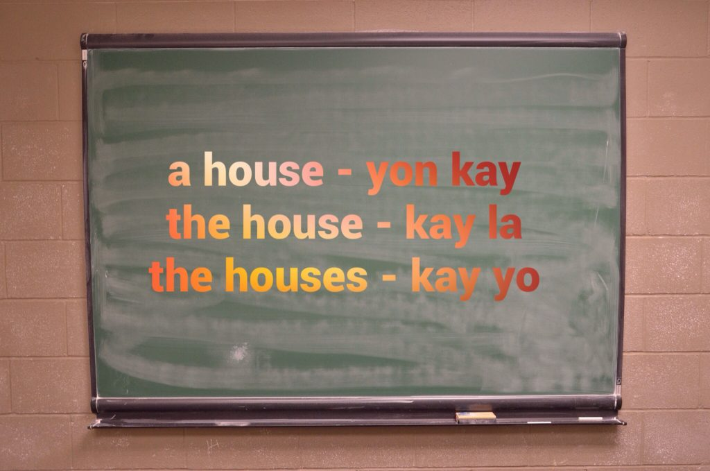rzeczowniki kreolski