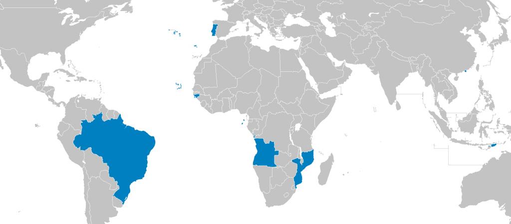 Język portugalski na świecie