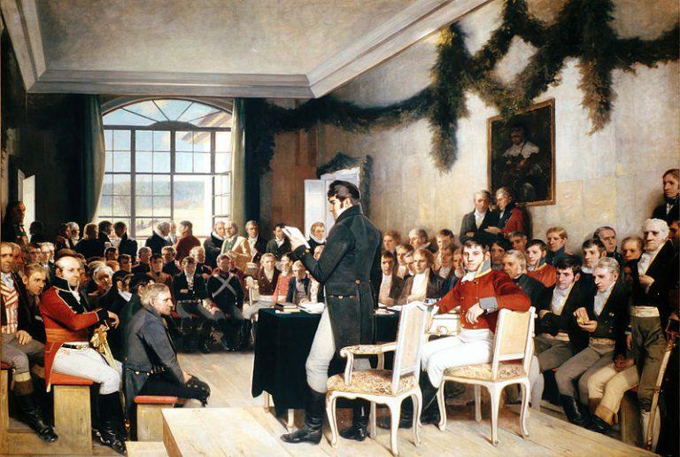 Konstytucja Norwegii... po norwesku?