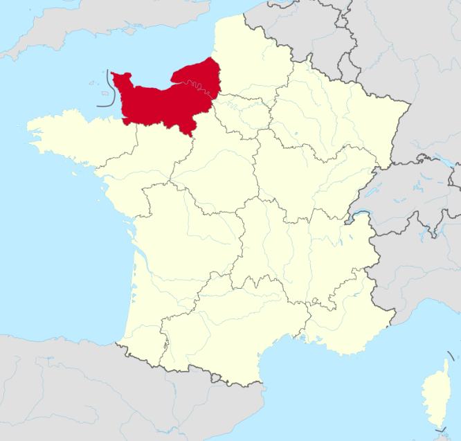 normandia język normandzki