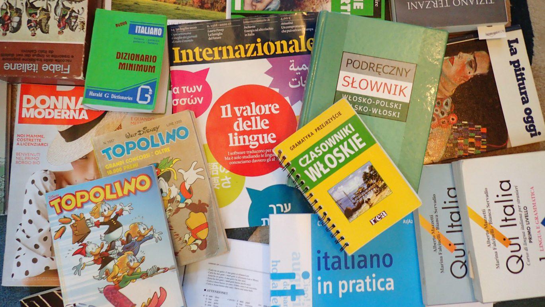Materiały do nauki włoskiego