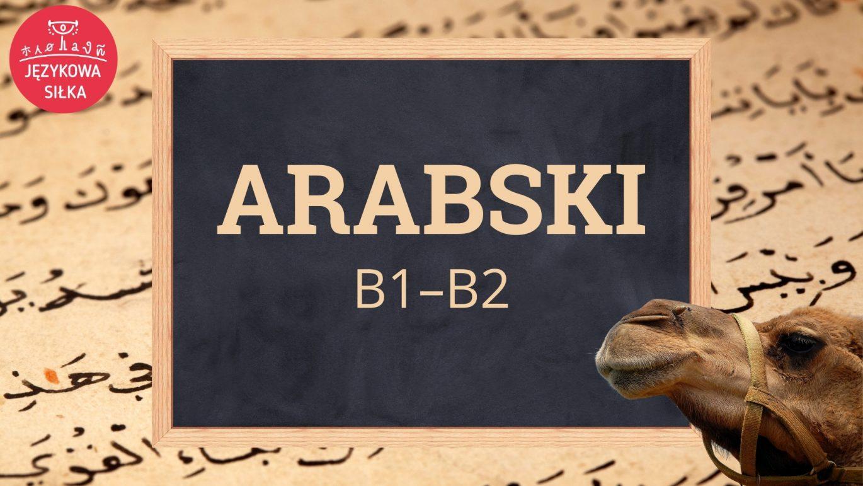 Arabski B1–B2
